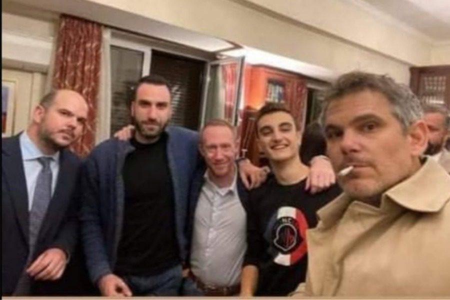 Πάρτι γενεθλίων παρά το lockdown για τον πρόεδρο του Δικηγορικού Συλλόγου Αθηνών 6