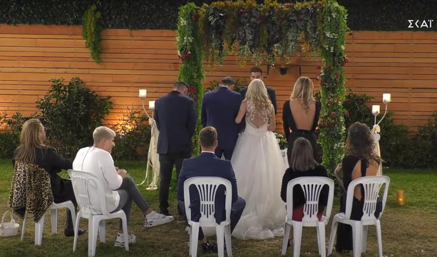 Big Brother: Σήμερα γάμος γίνεται! Η Άννα Μαρία ντύθηκε νύφη (video) 1