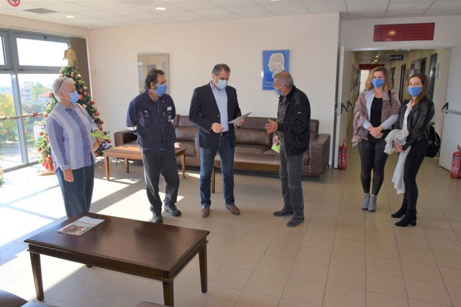 Στον Δήμαρχο εκπρόσωποι του Σωματείου Εργαζομένων στις ΔΕΥΑ Ν. Μεσσηνίας 15