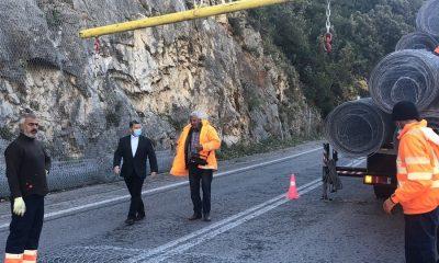 Σε εξέλιξη το έργο συντήρησης οδικής ασφάλειας στην 82η εθνική οδό στον Ταΰγετο 8