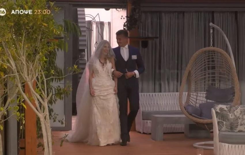Big Brother: Απόψε ο γάμος της Άννας Μαρίας με τον Κεχαγιά και η δύσκολη ψηφοφορία 1