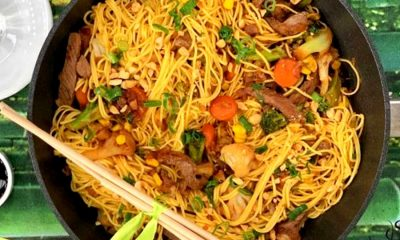 H συνταγή της ημέρας: Noodles με μοσχάρι και ανάμεικτα λαχανικά 2