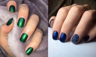 Σκουρόχρωμα νύχια: 25 εκπληκτικές ιδέες μανικιούρ από την κορυφαία τάση του φετινού Χειμώνα 24