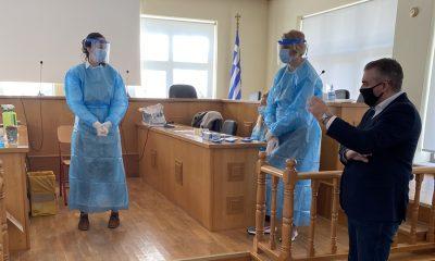 Άγγελος Χρονάς για παράρτημα σταθμού ΕΚΑΒ στους Γαργαλιάνους και την ομαλή διενέργεια των Rapid test 34