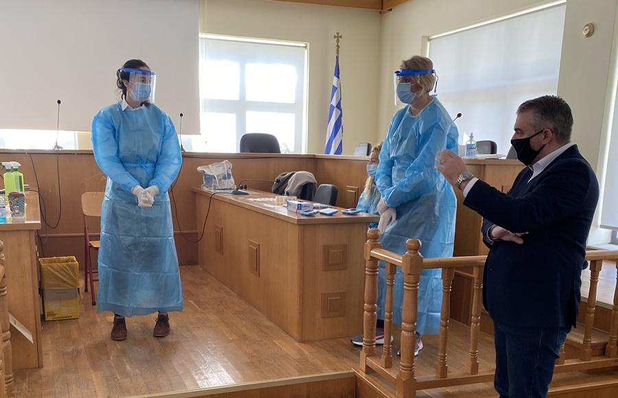 Άγγελος Χρονάς για παράρτημα σταθμού ΕΚΑΒ στους Γαργαλιάνους και την ομαλή διενέργεια των Rapid test 16