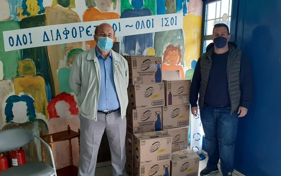 Δωρεάν καθαριστικά προϊόντα διατέθηκαν στον Δήμο Μεσσήνης για το πρόγραμμα «Καθαροί ζούμε στα σχολεία» 14