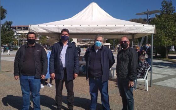 Ο Δήμος Μεσσήνης διαθέτει όχημα και οδηγό για κατ' οίκον εμβολιασμό