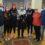 Η γυναικεία ομάδα πετοσφαίρισης του Απόλλωνα Καλαμάτας στον Δήμαρχο